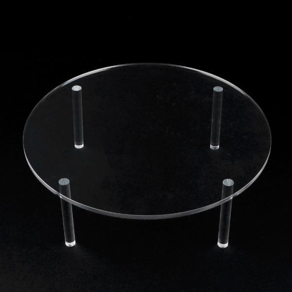원형 테이블 아크릴 진열대 대형