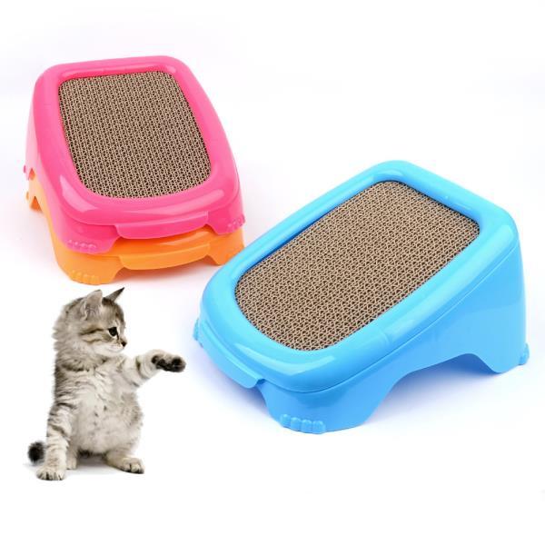경사형 고양이 스크래처