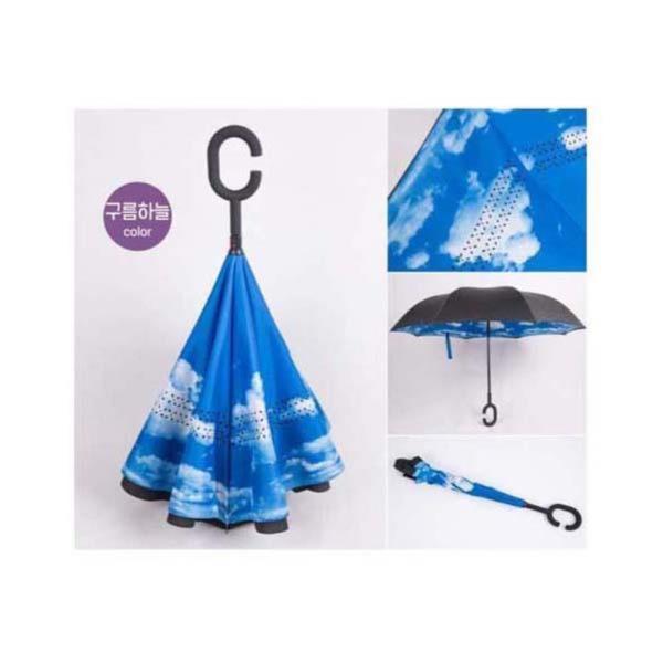 거꾸로우산 장우산 스마트한우산